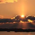 松島湾の初日の出