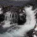 写真: 冷水の流れ