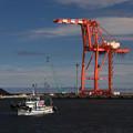 写真: 仙台港警戒船