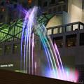 Photos: 光る音楽噴水