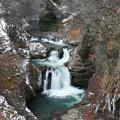 極寒時の滝美観