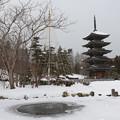 冬の西方寺訪ねて