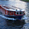 写真: 水上バスの旅