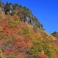 奇岩の彩り
