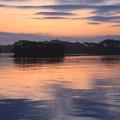 日の出前の静寂光景