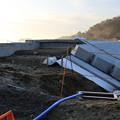 松島湾の防潮堤工事