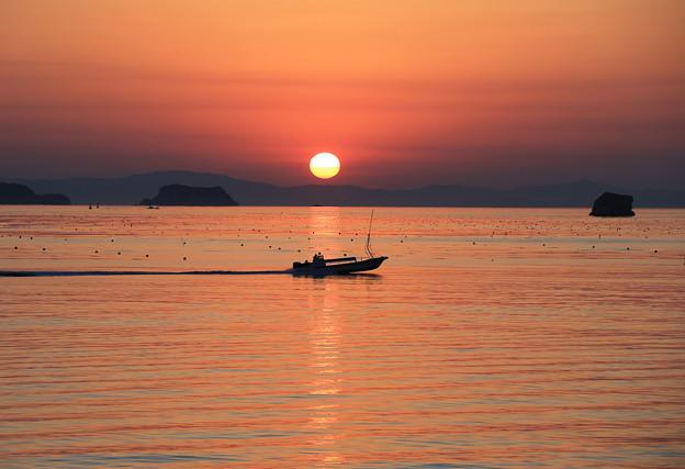 写真: 松島湾の美しい風光