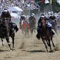 騎馬武者の勇猛疾走