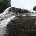 滝飛沫の美しさ