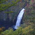 写真: 紅葉始まる蔵王の滝