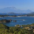 写真: 千厳山からの絶景