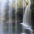 写真: 裏見の滝の鍋ヶ滝