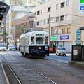 写真: 長崎の路面電車