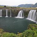 写真: 原尻の滝・大分