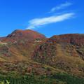 紅葉の久住の山々