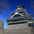 大空に聳える熊本城