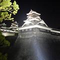 夜の熊本城