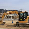 Photos: 工事続く被災地