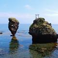 恵比寿岩と大黒岩