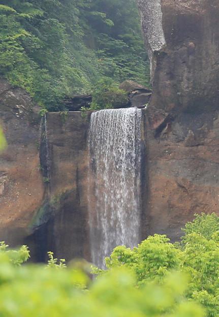写真: インクラの滝・白老