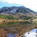 立山の壮美な風景
