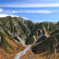 秋の立山連山