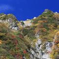 立山の彩り