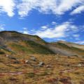 秋深まる国見岳