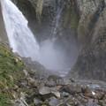 大瀑布の滝壺