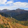 秋の鹿島槍ヶ岳