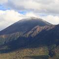初冠雪の岩手山