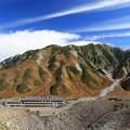 Photos: 秋の別山と雷鳥温泉