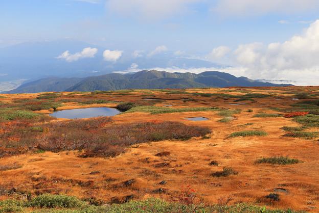 写真: 天空の秋の大自然