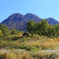 秋の九重の山々
