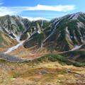 Photos: 真砂岳と湿原と