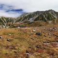 立山の雄大な眺望