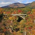 Photos: 鳴子峡の美妙な風景