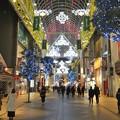 写真: 仙台の夜の一番町