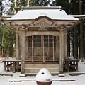 写真: 山の神社