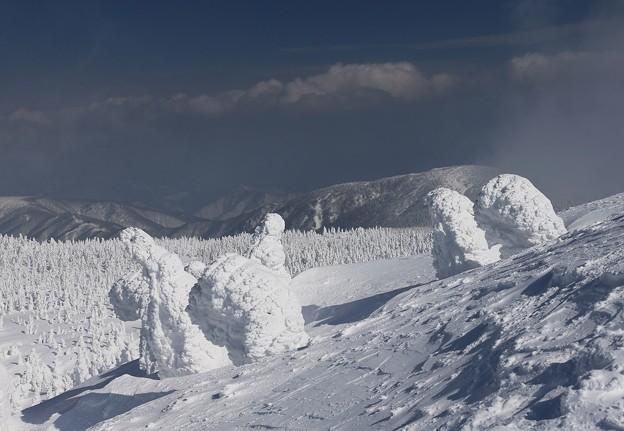 Photos: 樹氷に魅せられて