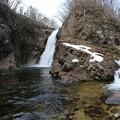 写真: 雪解け増水の大滝