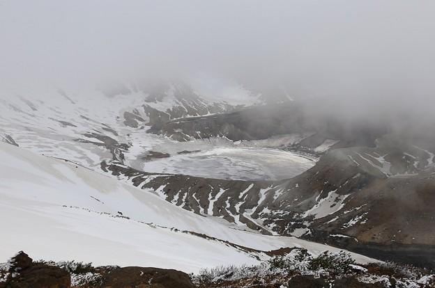写真: 春なのに極寒地帯
