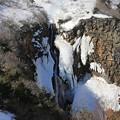 写真: 伝説の帰らずの滝