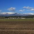 写真: 蔵王連峰の山並み