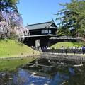 写真: 北国の桜の名所