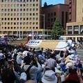 写真: 福島わらじ祭り