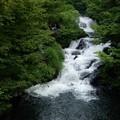 写真: 雨降り滝・会津若松