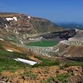 写真: 蔵王連峰お釜の風光