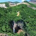 写真: 蔵王の不帰の滝