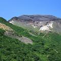 写真: 五色岳の荒々しさ